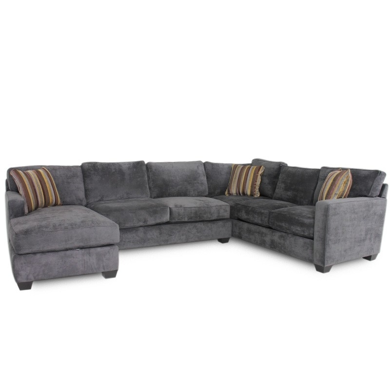 Huntsville Al Sectional Sofas Intended For Well Known Jonathan Louis Bradford Albroke Plum Sectional – Sofa, Sectional (View 3 of 10)