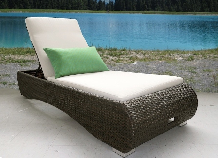 Ideas For Build Outdoor Chaise Lounge Chairs — Bed And Shower In Favorite Comfortable Outdoor Chaise Lounge Chairs (Gallery 10 of 15)