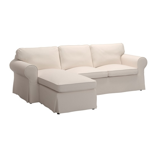 Ikea Chaise Couches Regarding Most Recent Ektorp Sofa – With Chaise/lofallet Beige – Ikea (View 6 of 15)