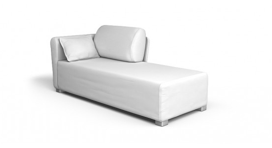 Ikea Chaise Lounges With Regard To Well Known Mysinge Chaise Lounge Left, Right Sofa Cover – Beautiful Custom (Gallery 6 of 15)