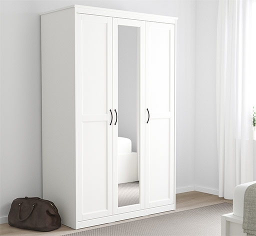 Ikea In Best And Newest White Cheap Wardrobes (Gallery 14 of 15)