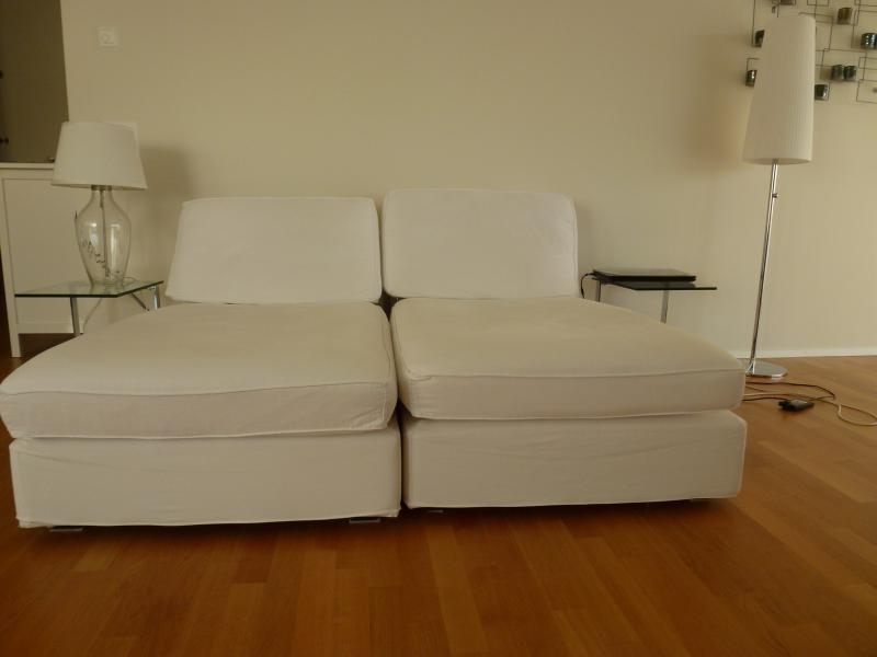 Ikea Kivik Chaise / Recamiere And Lamps For Sale Gorgeous & Comfy Regarding Latest Kivik Chaises (View 4 of 15)