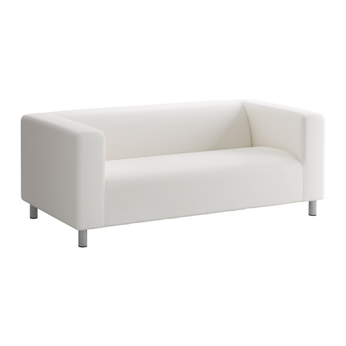 Ikea Two Seater Sofas Throughout Well Liked Klippan Two Seat Sofa Ransta White – Ikea (View 7 of 10)