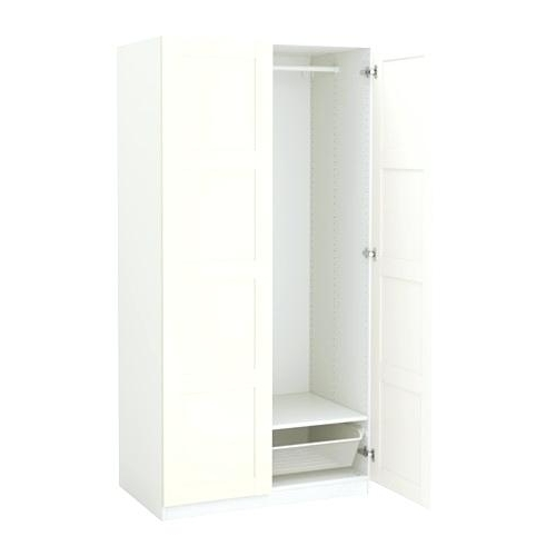 Ikea Wardrobe White Wardrobe Year Guarantee Read About The Terms In Most Popular Single White Wardrobes With Drawers (View 3 of 15)
