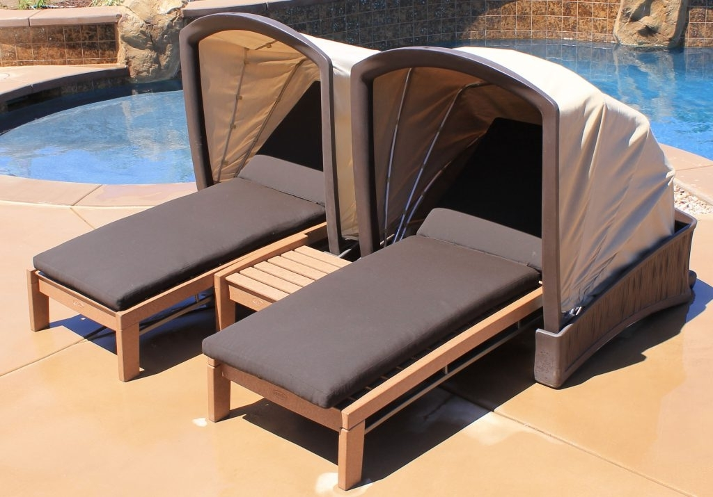 Image Remarkable Stirring Beach Chaise Lounge Chair Outdoor Chairs Within Trendy Chaise Lounge Chair With Canopy (View 6 of 15)