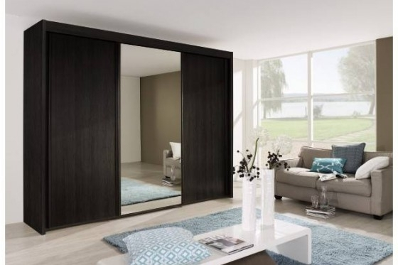 Imperial 3 Door Sliding Wardrobe With 1 Mirrored Door (W 225Cm X H Pertaining To 2017 Three Door Mirrored Wardrobes (Gallery 13 of 15)