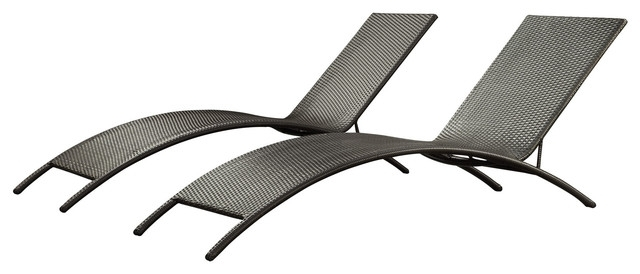 Impressive On Patio Chaise Lounge Chairs Jaunt Outdoor Wicker With Most Up To Date Contemporary Outdoor Chaise Lounge Chairs (View 13 of 15)