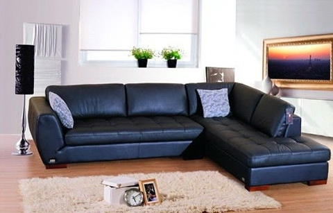 Incredible Best Blue Leather Sectional Sofa Royal Home Regarding In Popular Sectional Sofas At Buffalo Ny (View 5 of 10)