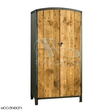Industrial Style Wardrobes Within Most Popular Vintage Industrial Armoire – Buy Vintage Industrial Armoire (View 11 of 15)