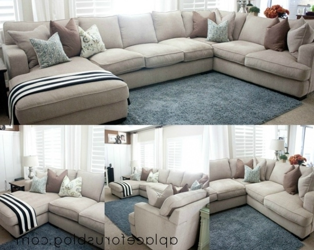 Interior Design For Feather Down Sectional Couches Cool Sofa With In Well Known Down Sectional Sofas (View 6 of 10)