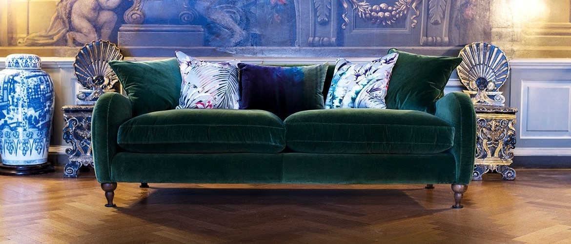 Interior With Regard To Velvet Sofas (View 6 of 10)