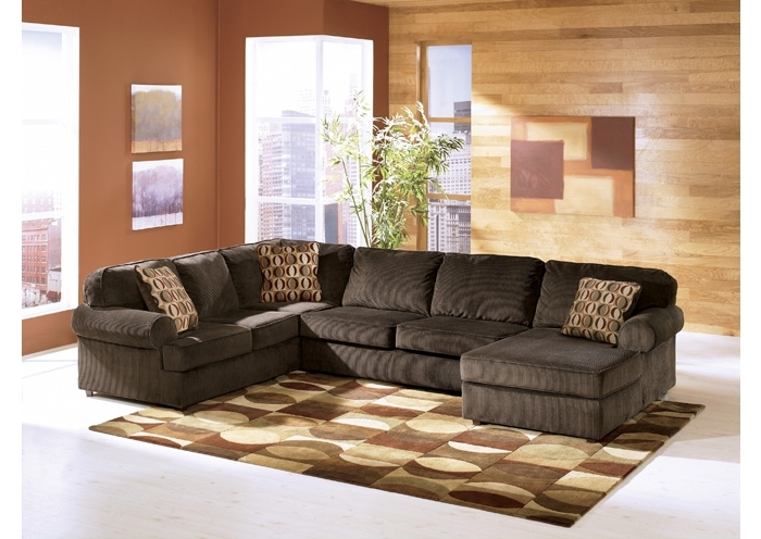 Ivan Smith Sectional Sofas Throughout Most Recently Released Ivan Smith Vista Chocolate Left Facing Chaise Sectional (View 7 of 10)