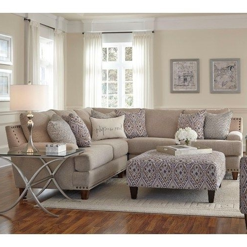 Jackson Ms Sectional Sofas Intended For Latest Franklin Julienne Sectional Sofa With Four Seats (View 1 of 10)