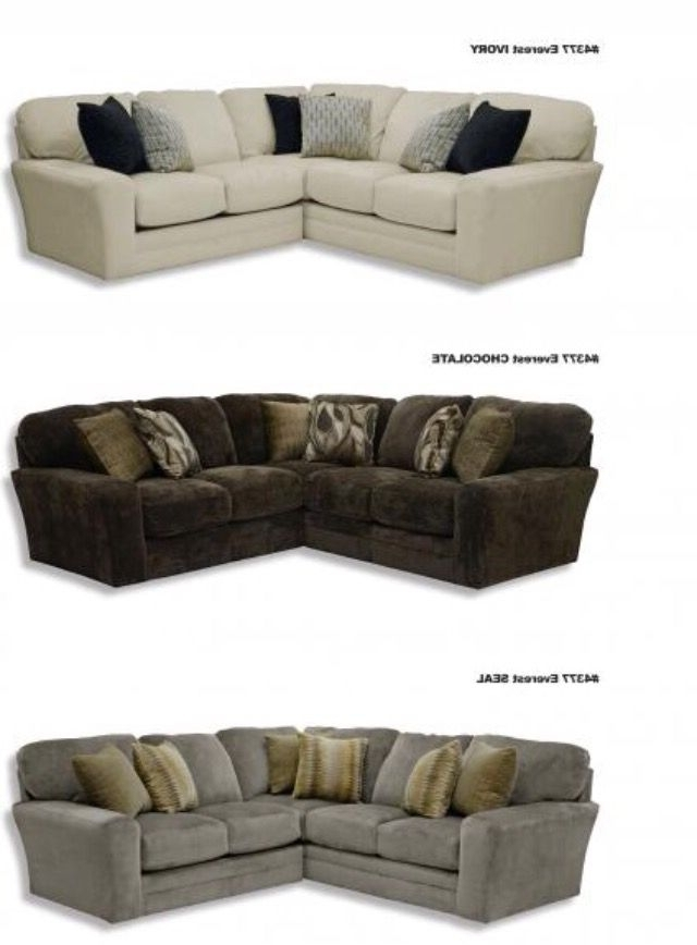 """Jackson Tn Sectional Sofas In Newest Jackson Catnapper Everest Sectional In The Color """"seal"""" (View 9 of 10)"""
