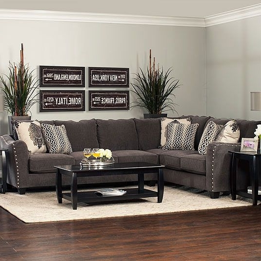 Jerome's Sectional Sofas In Preferred Angelina 2Pc Sectional: Laf Tux Sofa & Raf Sofajerome's (Gallery 1 of 10)