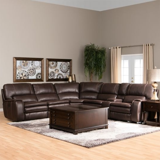 Jerome's Sectional Sofas Within 2017 Orlando Reclining Sectional (View 5 of 10)
