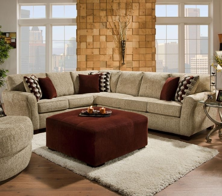 Johnny Janosik Sectional Sofas With Most Up To Date 2500 Contemporary Styled Sectional Sofa With Sleepercorinthian (View 6 of 10)