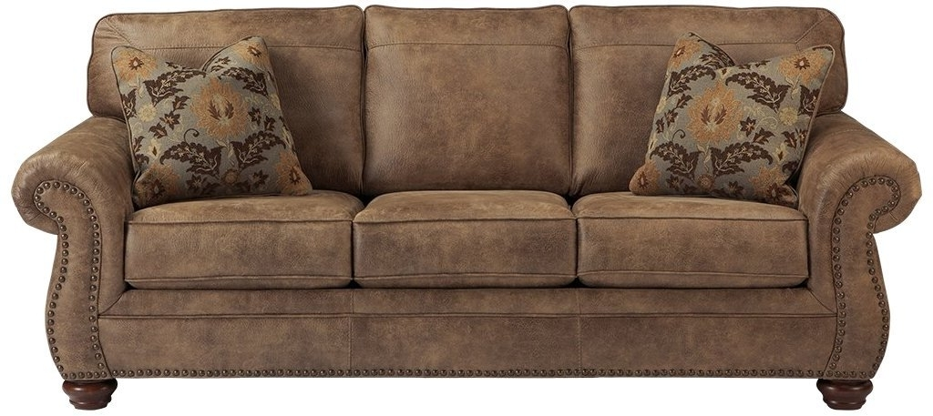 Johnson City Tn Sectional Sofas With Regard To Latest Amazon: Ashley Furniture Signature Design – Larkinhurst Sofa (Gallery 6 of 10)