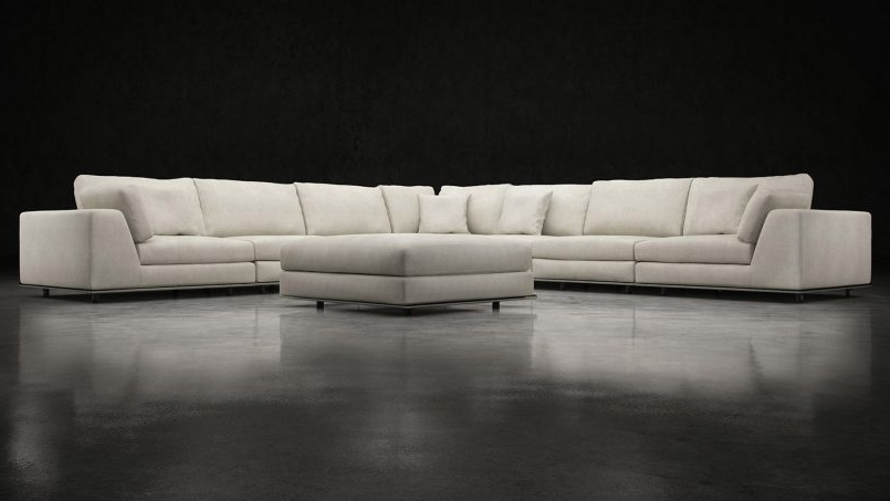 Joining Hardware Sectional Sofas For Trendy Furniture : 5060 Recliner Sectional Sofa Costco $699 Corner Couch (Gallery 4 of 10)