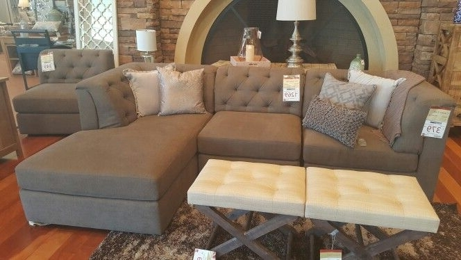 "Jonathan Louis ""amelia"" Modular 3 Piece Sectional At Homemakers Within Popular Homemakers Sectional Sofas (Gallery 10 of 10)"