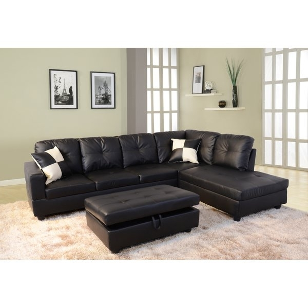 Featured Photo of Black Sectional Sofas