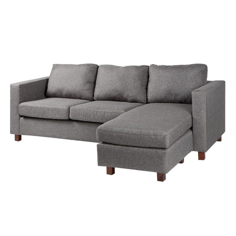 Jysk Sectional Sofas Inside Famous Corner Sofa (grey) (Gallery 1 of 10)