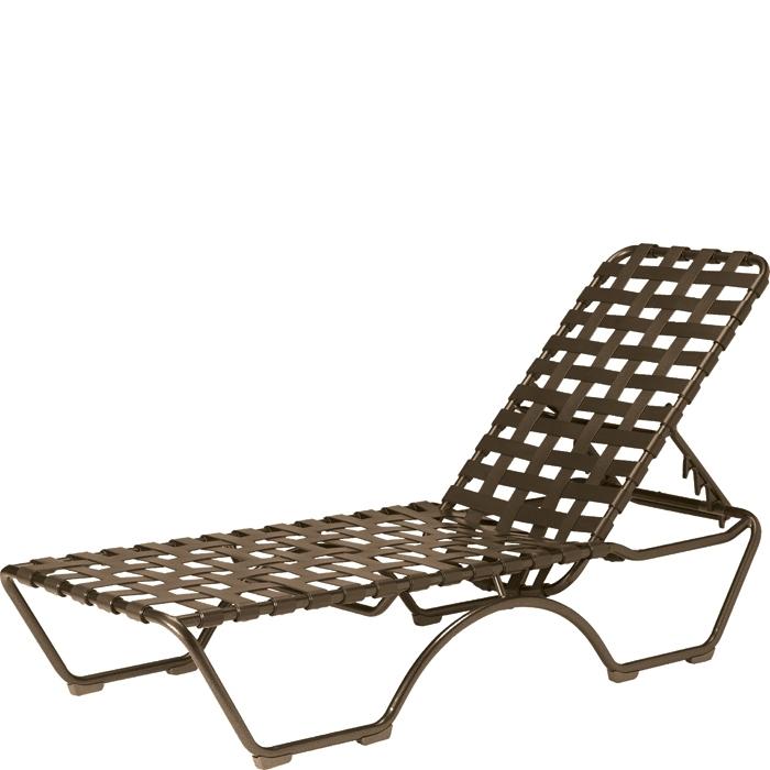 Kahana Cross Strap Chaise Lounge (Gallery 9 of 15)