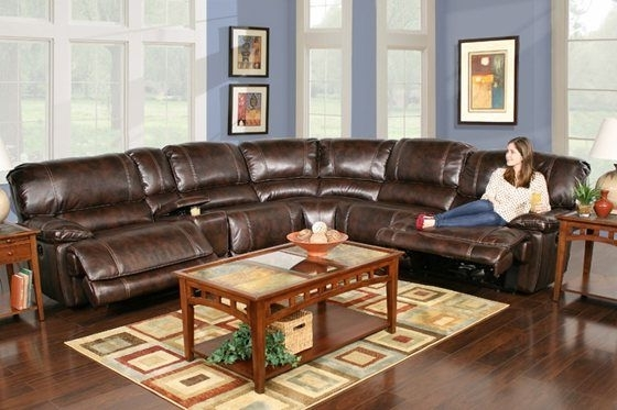 Kanes Sectional Sofas In Most Current Kane's Furniture – Leathaire 6 Piece Power Reclining Sectional (View 8 of 10)