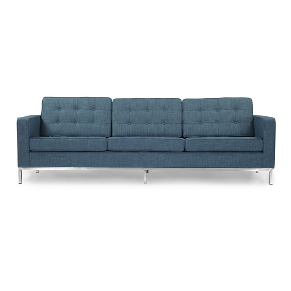 Kardiel Florence Knoll Style Sofa 3 Seat, Premium Fabric With Current Florence Knoll Style Sofas (View 6 of 10)
