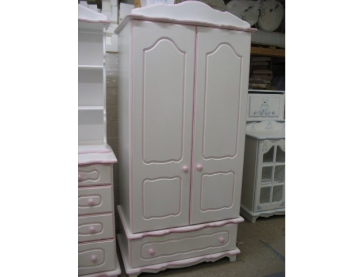 Kent Wardrobes Intended For Newest Hand Made Bespoke Personalised Childrens 2 Door Wardrobes Made In (View 8 of 15)