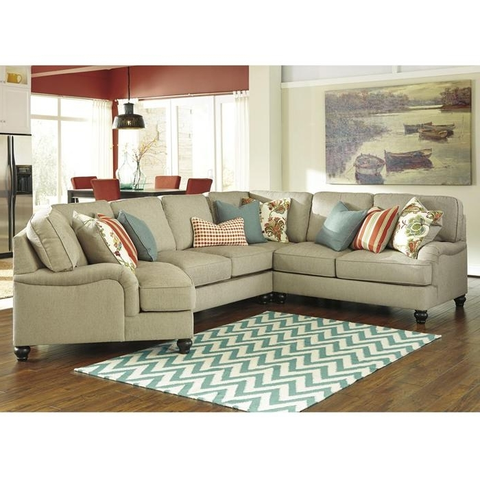 Kerridon 4 Piece Sectional In Putty (View 8 of 10)