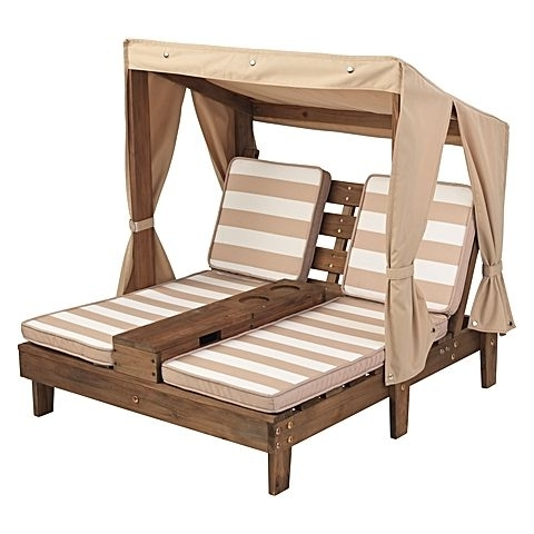 Kidkraft Double Chaise Lounges In Well Known Kids' Double Chaise Outdoor Loungekidkraft (View 9 of 15)