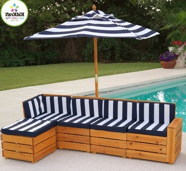 Kidkraft Outdoor Table And Chair Set For Children $159 – My Frugal Throughout Well Known Kidkraft Double Chaise Lounges (View 15 of 15)