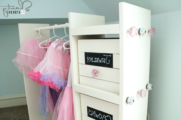 Kids Dress Up Wardrobes Closet Pertaining To Most Recently Released Wardrobes ~ Clothing Wardrobes And Armoires Diy Dress Up Cart (View 7 of 15)