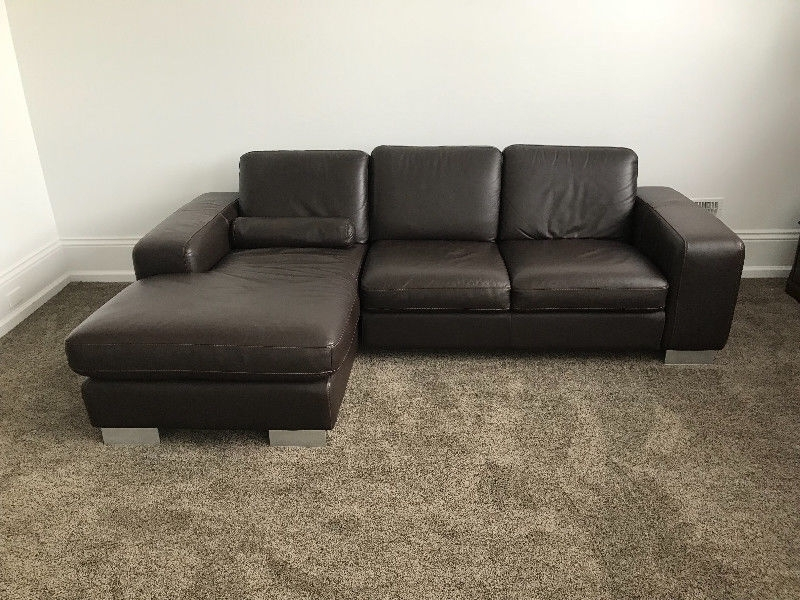 Kijiji Mississauga Sectional Sofas For Most Current Modern Leather Italsofa Sectional/ Sofa/ Couch (Gallery 1 of 10)