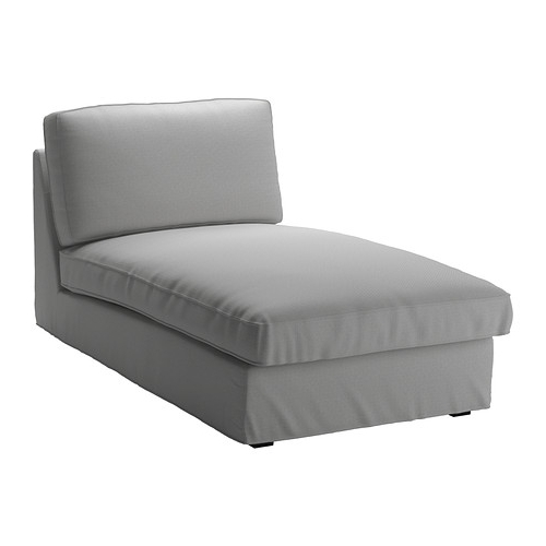 Kivik Chaise – Orrsta Light Gray – Ikea With Well Known Blue Chaises (View 9 of 15)