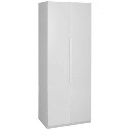 Knightsbridge White Tall 2 Door Wardrobe Throughout 2018 Tall White Wardrobes (View 5 of 15)