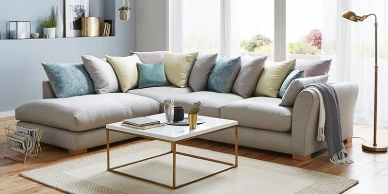 L Shaped Sofas Intended For Most Current L Shaped Sofa: The Most Preferred Sofa – Bellissimainteriors (View 2 of 10)
