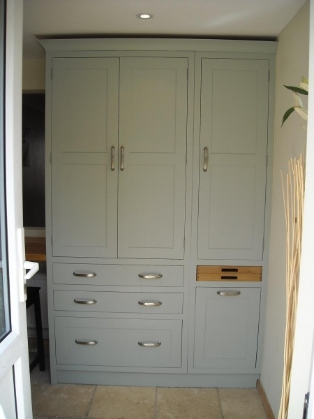 Lake House With Farrow And Ball Painted Wardrobes (View 5 of 15)