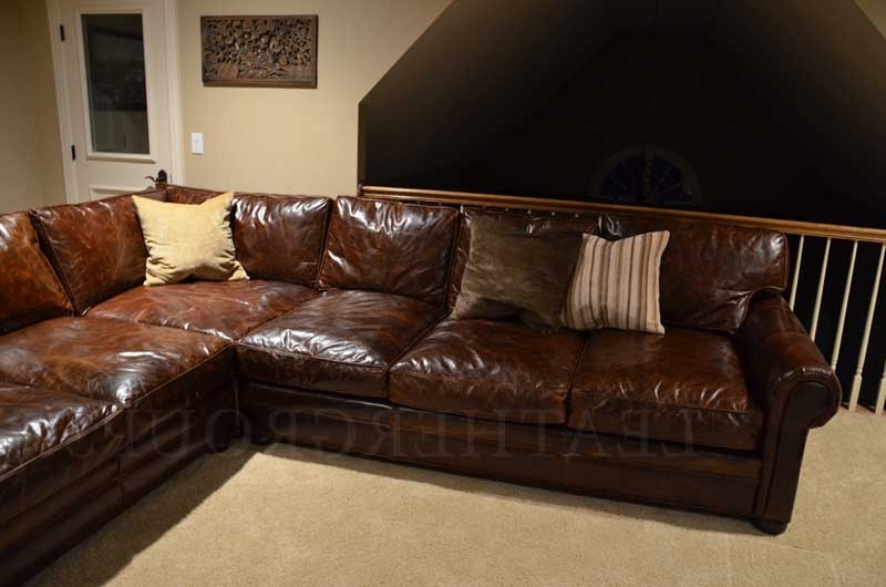 Lancaster Pa Sectional Sofas For Well Liked Lancaster Leather Sofa (View 5 of 10)