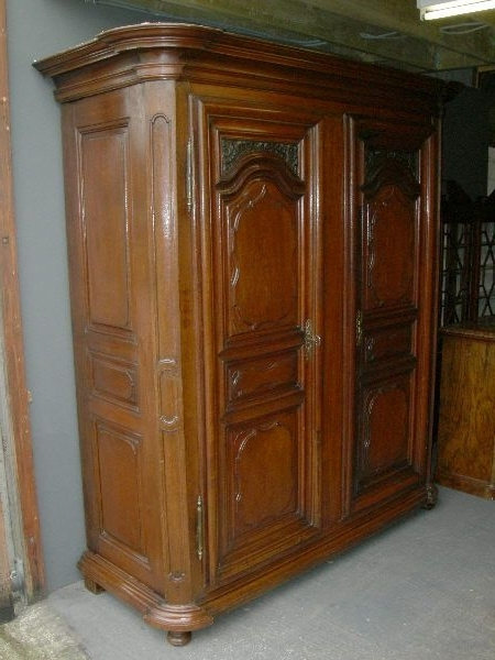Large Antique Oak Wardrobe – Large 19Th (View 6 of 15)