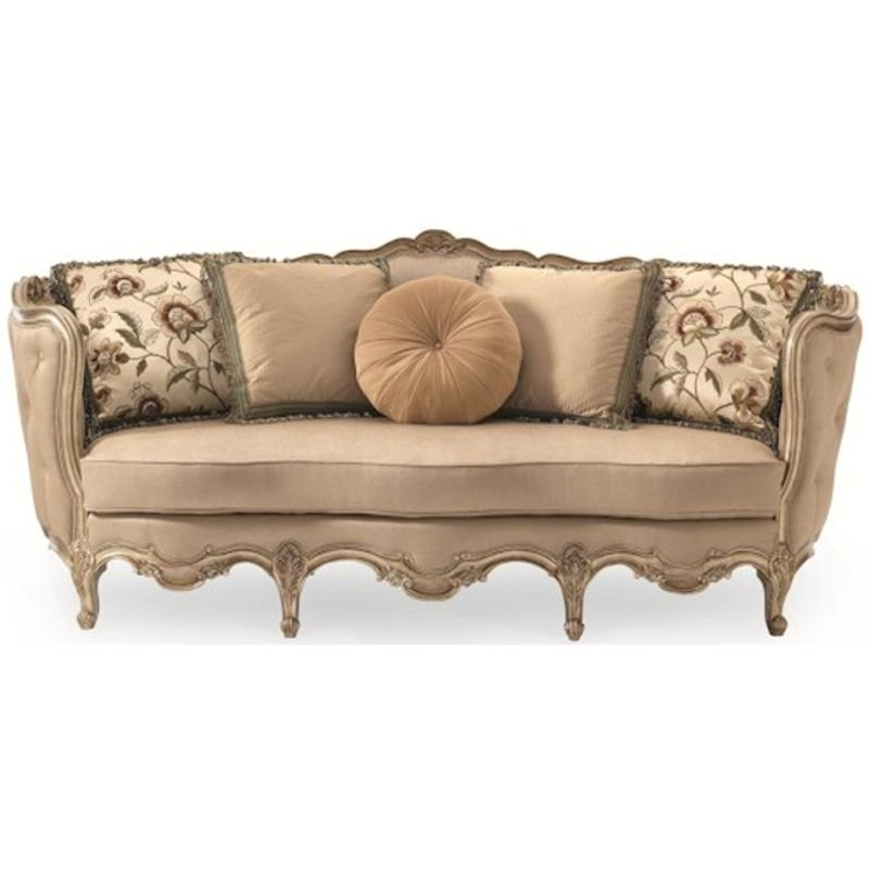 Latest A840 082 A Schnadig Furniture Florence Carved Wood Sofa Intended For Florence Sofas And Loveseats (View 6 of 10)