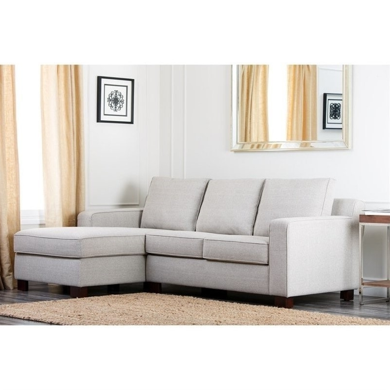 Latest Abbyson Living Regina Fabric Sectional Sofa In Gray U2013 Rl 1321 Gry  Throughout Abbyson Sectional