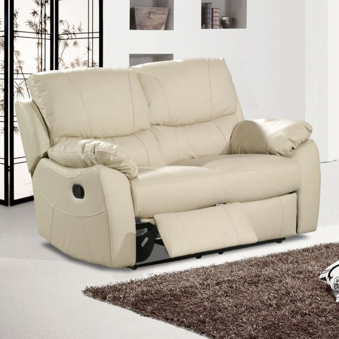 Latest Awesome Leather Sofa 2 Seater Recliner Catosfera Net With Two Seat Pertaining To 2 Seat Recliner Sofas (View 6 of 10)