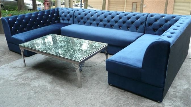 Latest Blue U Shaped Sectionals For European Style Sectional Sofa, European Style Sectional Sofa (View 2 of 10)
