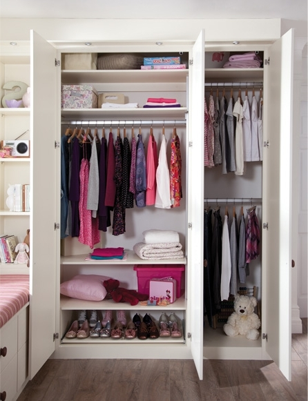 Latest Childrens Double Rail Wardrobes In Think About Your Storage Needs When Building Your Own Fitted (View 10 of 15)