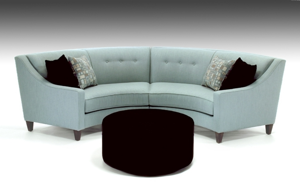 Latest Curved Couch — Interior Exterior Homie : Curved Couch With Recliners Within Rounded Sofas (View 4 of 10)
