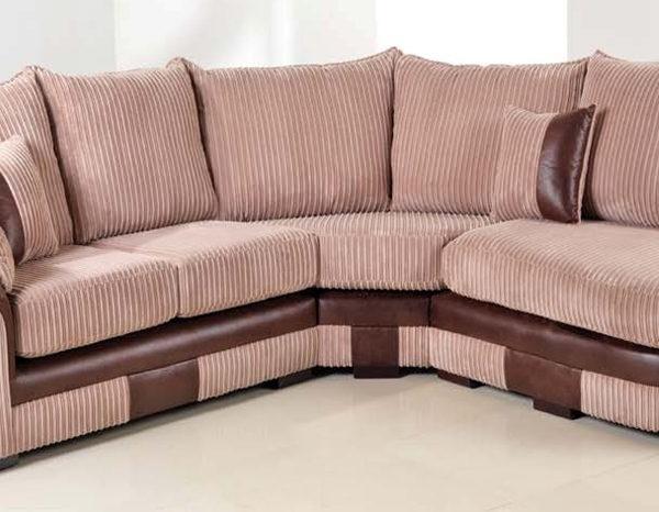 10 Best Ideas of Fabric Corner Sofas