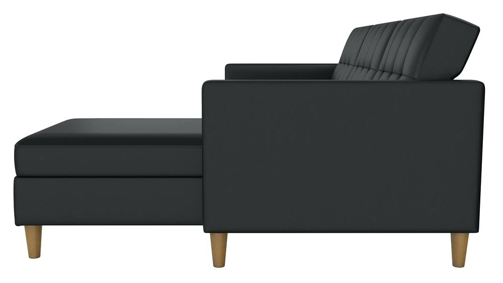 Latest Emily Chaises Inside Futon Chaise Lounge Emily Futon Chaise Lounger – Colbycolby (View 10 of 15)