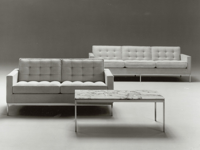 Latest Florence Knoll Leather Sofas Throughout Florence Knoll Sofa (View 8 of 10)